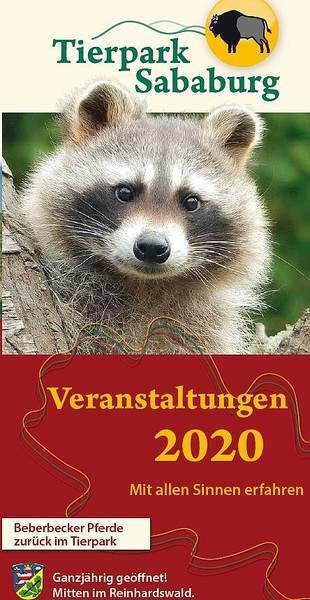 Tierpark Sababurg - Veranstaltungen 2020