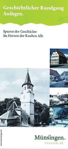 Geschichtlicher Rundgang  Auingen