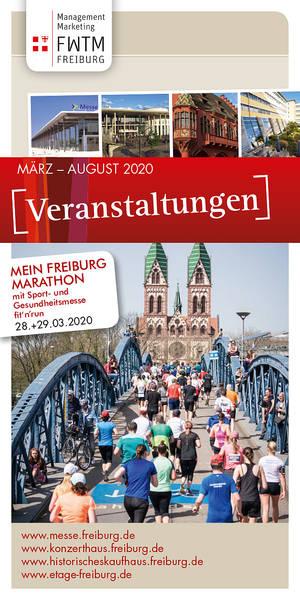 Veranstaltungsflyer März - August 2020