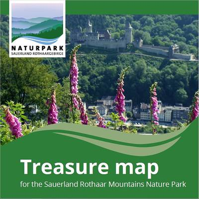 Schatzkarte Naturpark Sauerland Rothaargebirge - Treasure map