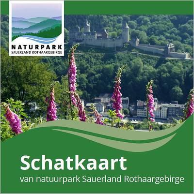 Schatzkarte Naturpark Sauerkand Rothaargebirge - Schatkaart
