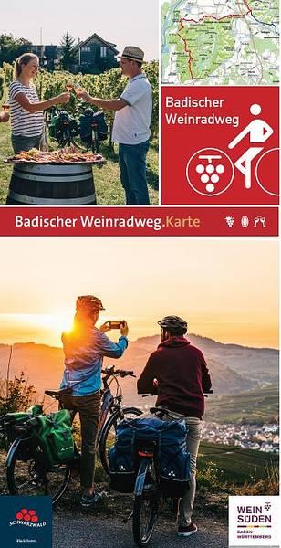 Badischer Weinradweg Karte