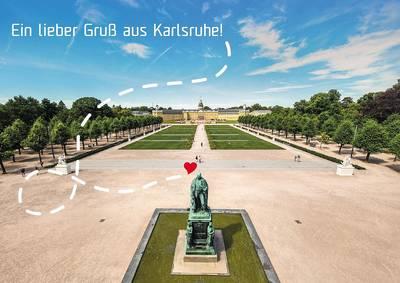 Ein lieber Gruß aus Karlsruhe