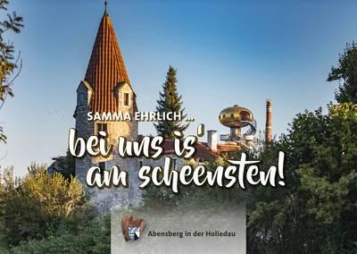 Postkarte Abensberg