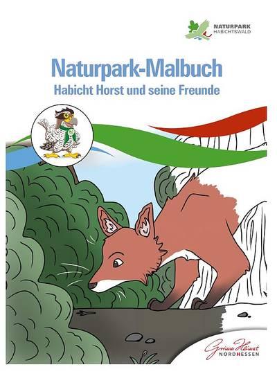 Naturpark-Malbuch