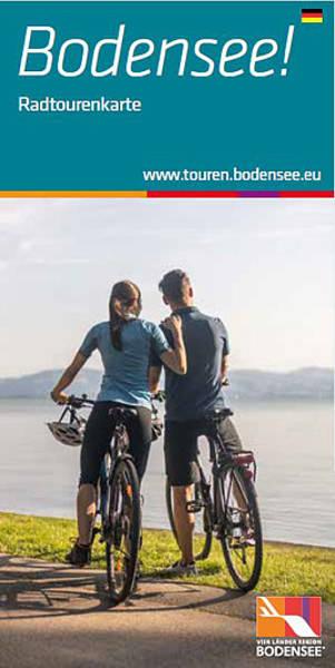 Radtouren-Karte der Vierländerregion Bodensee