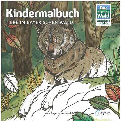 Kindermalbuch Tiere im Bayerischen Wald