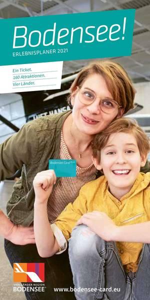 Erlebnisplaner Bodensee Card Plus Erlebnisplaner 2021