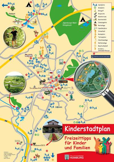Kinderstadtplan Homburg