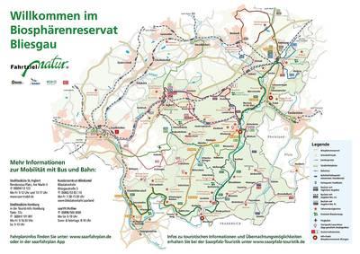 Interaktive Karte Biosphäre Bliesgau