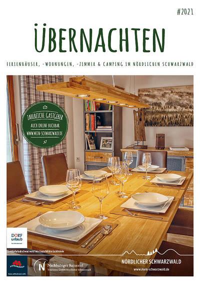 Gastgeberverzeichbnis Nördlicher Schwarzwald - Ferienhäuser, Ferienwohnungen, Gästezimmer und Campingplätze