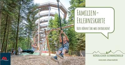 Familien-Erlebniskarte Nördlicher Schwarzwald
