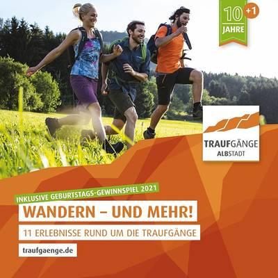 Traufgänge: Wandern - und mehr!