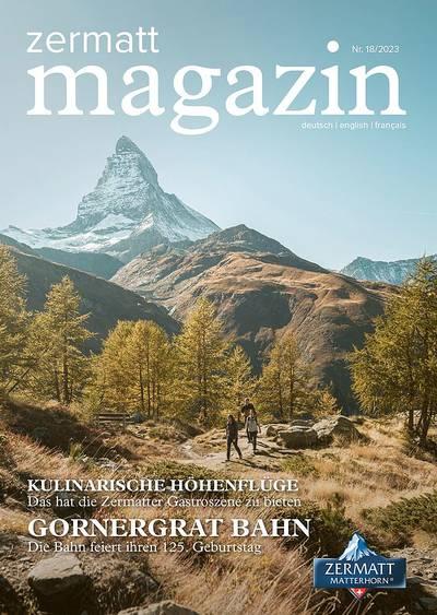 Zermatt Magazin 2021 - DE