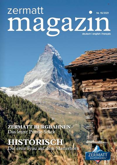 Zermatt Magazin 2021 - EN