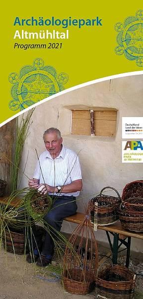 Veranstaltungsprogramm 2021 Archäologiepark Altmühltal