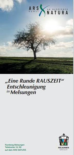 """Ars-Natura-Flyer Melsungen \""""Eine Runde Rauszeit\"""""""