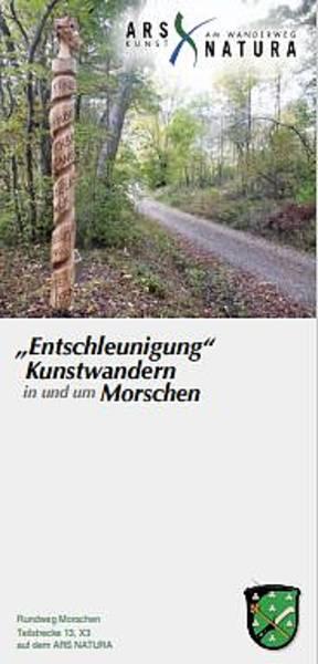 """Ars-Natura-Flyer Morschen \""""Entschleunigung\"""""""