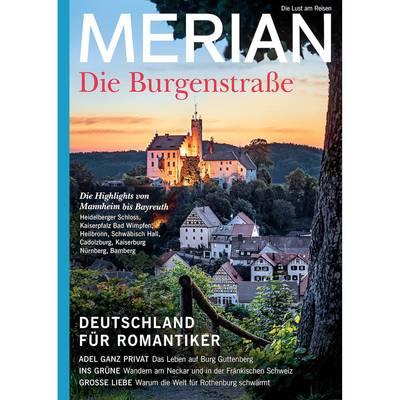 Burgenstraße - Merian 9,90 Euro