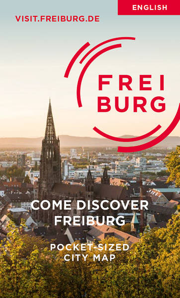 Come Discover Freiburg - Pocket Plan