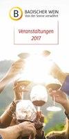 Badischer Wein 2017- Veranstaltungskalender