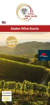 Baden Wine Route - Touristic Map