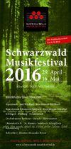 Schwarzwald Musikfestival 2016